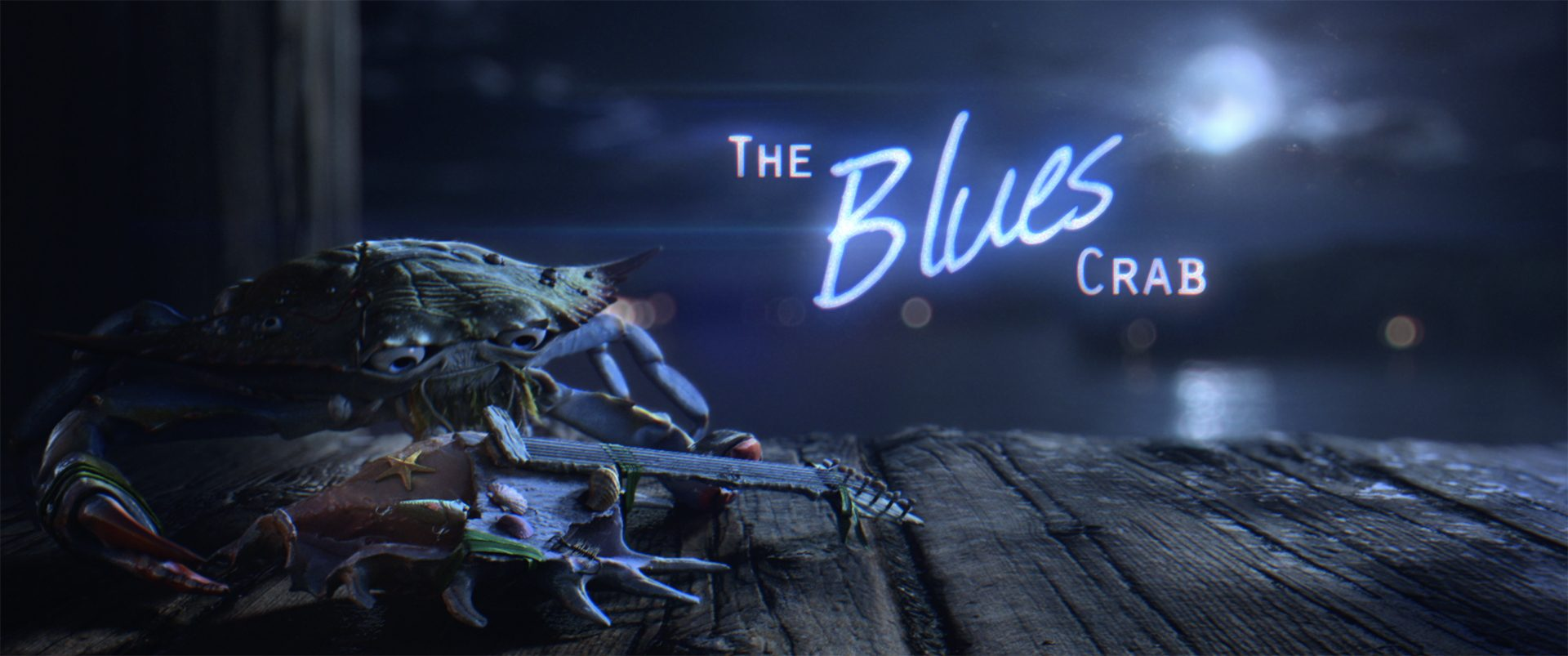 The Blues Crab Poster