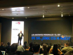 Blas Giffuni speaking at IAB Colombia